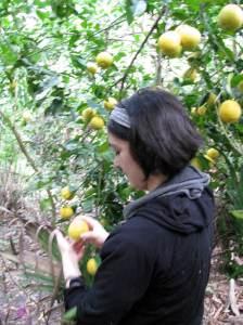 doreen and a lemon
