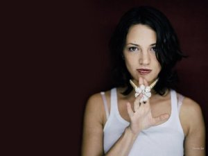 Asia Argento, in a relatively tame photo