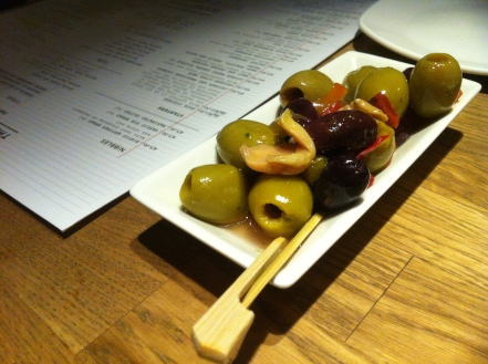 olive plate nibbles