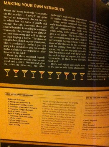 vermouth recipe in Hot Rum Cow