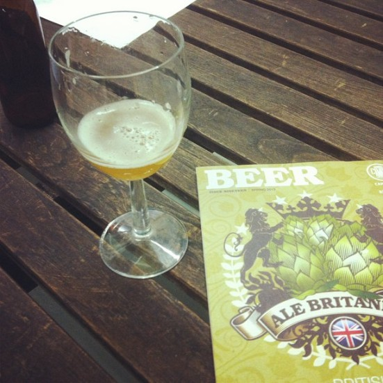 Pressure Drop's Hop X with CAMRA's Beer magazine