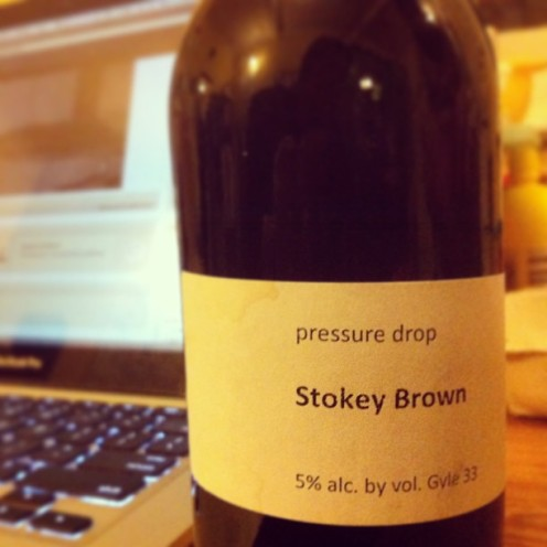 Pressure Drop's Stokey Brown